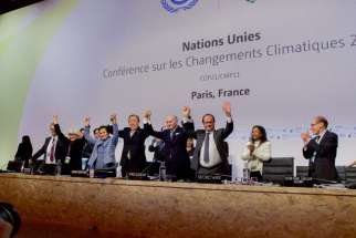 File photo of the Paris climate conference from December 2015. Development and Peace said the the United Nations Climate Change Conference in Marrakech, which concluded Nov. 18, failed to address the needs of small farmers.