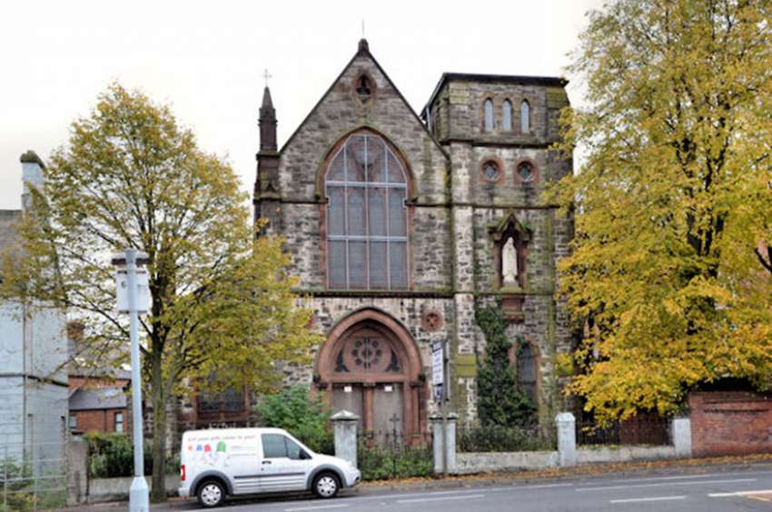 The Belfast Film Festival plans to show two horror movies – The Exorcist and The Omen – at Holy Rosary Church in Belfast, a landmark church that has been abandoned since 1980.