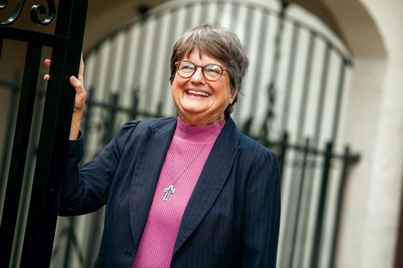 Sr. Helen Prejean has been ministering to prison inmates for the past quarter century. She says while many of these people have committed horrific crimes, they too are made in the image of God and deserve dignity.