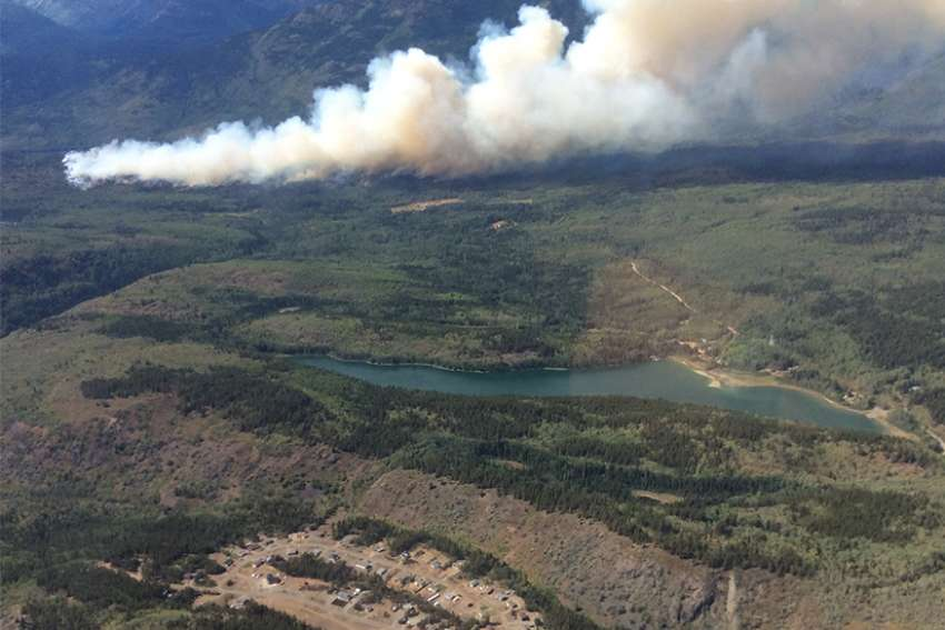 Lightning sparked a wildfire northwest of Telegraph Creek in the northern part of the province Aug. 1, and a local state of emergency was declared three days later. All 300 residents of Telegraph Creek were told to evacuate Aug. 5, and they fled to Dease Lake and nearby communities.