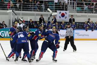 South Korean women's hockey team faces Australia in the IIHF Ice Hockey Women's World Championships in April 2017. Women from the North Korean hockey team will be joining the South Korean team during the 2018 Pyeonchang Winter Olympic Games.