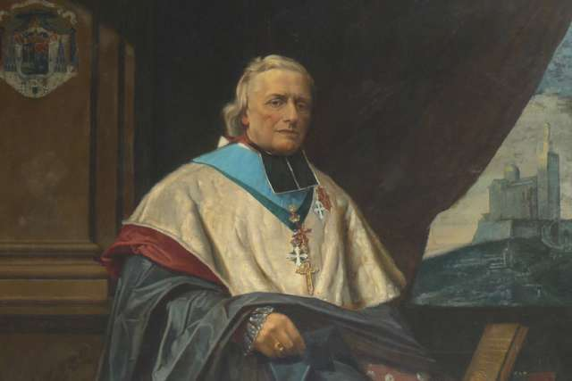 Mgr. Eugène de Mazenod, founder of the Missionary Oblates of Mary Immaculate.