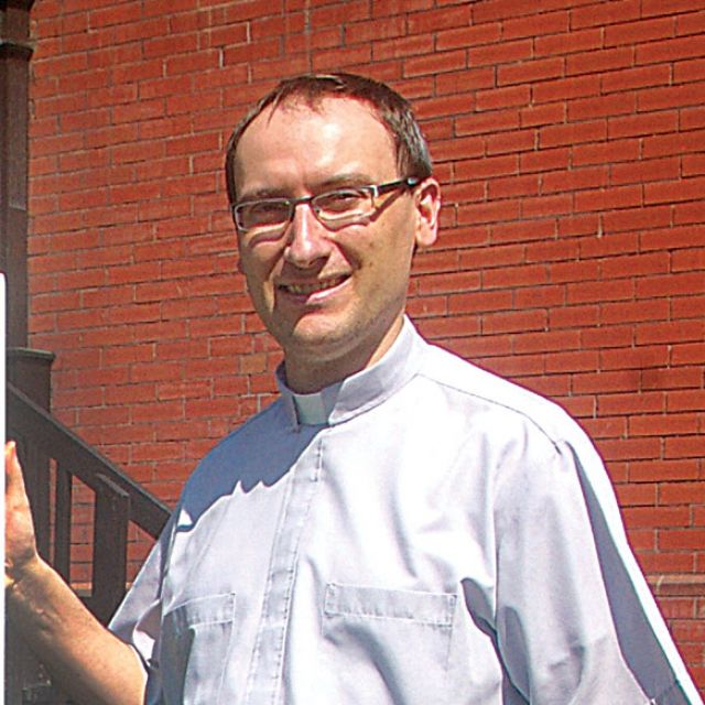 Fr. Chris Cauchi took over as chaplain at the Newman Centre at the University of Toronto's downtown campus at the start of the summer.