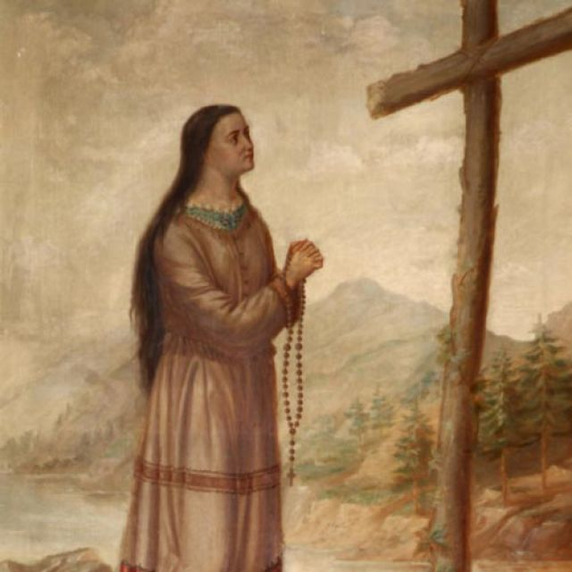 Our native saint: Kateri Tekakwitha, Lily of the Mohawk