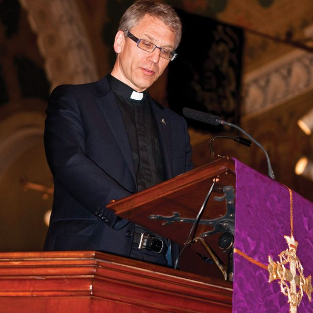 The head of the World Council of Churches, Rev. Dr. Olav Fykse Tveit