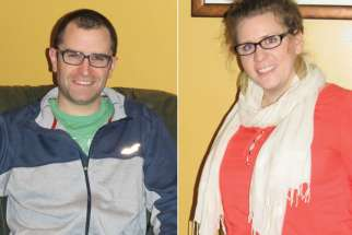 Ryan Gallant (left) and Sara Richard are part of a planning committee that hopes to engage Catholic young adults in PEI.