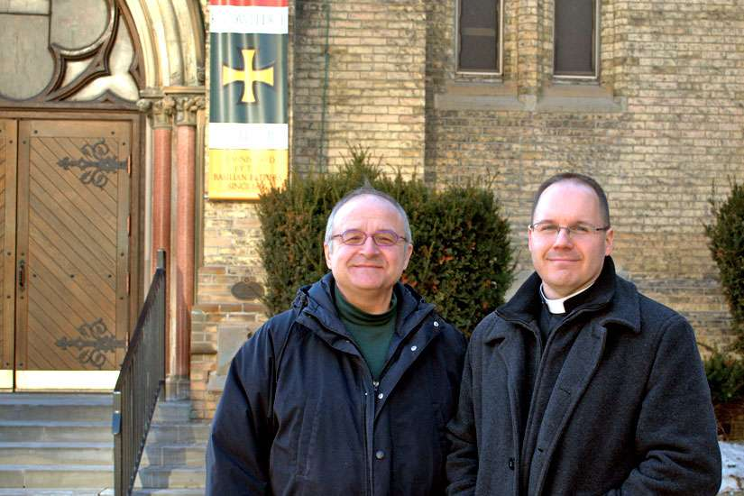 John Dalla Costa and Fr. Chris Valka hope to continue the parish's reflection on ecology beyond the Lenten season.