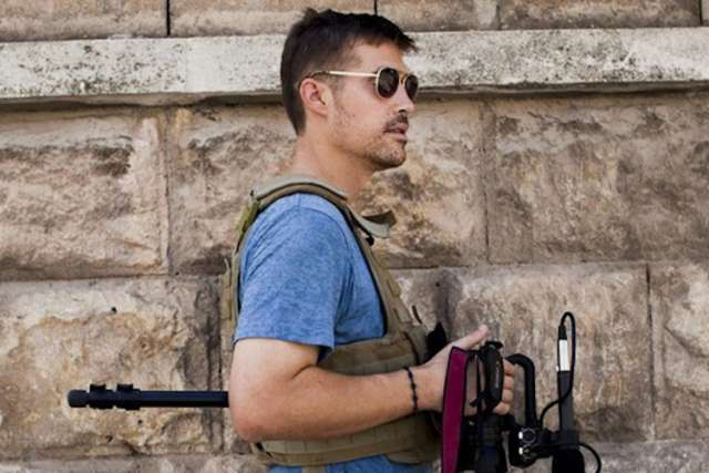 American journalist James Foley, who was kidnapped by unidentified gunmen in November 2012 in Idlib, Syria, is pictured in an undated photo. Foley, a freelance war correspondent from New Hampshire and Marquette University alum, was killed at the hands of the Islamic State militant group.