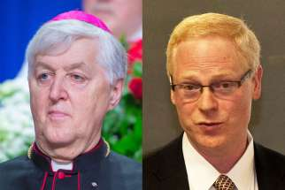 Pope Francis has appointed two Canadians, Dr. William F. Sullivan, a Toronto family physician and ethicist, and Bistop Noël Simard of Valleyfield, Que., to the Pontifical Academy of Life on June 13.
