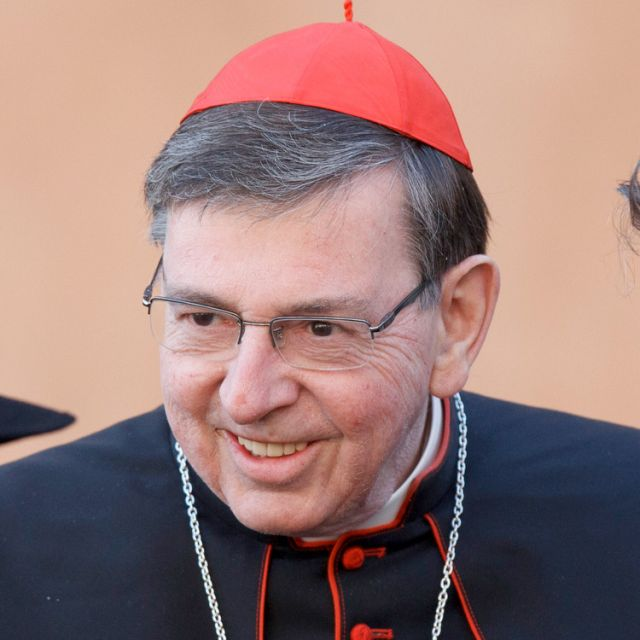 Swiss Cardinal Kurt Koch, president of the Pontifical Commission for Religious Relations with the Jews and a member of the Congregation for the Doctrine of the Faith