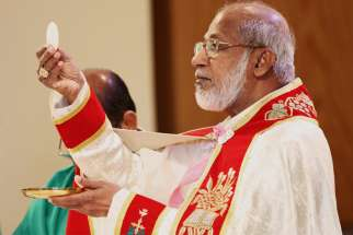 An Indian court has asked police to investigate allegations of breach of trust involving Cardinal George Alencherry of India, major archbishop of the Syro-Malabar Catholic Church. Cardinal Alencherry is pictured in a 2012 photo.