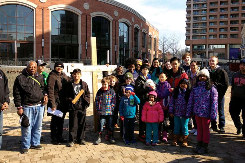 Every year, St. Anthony Padua Church leads an outdoor Stations of the Cross through Brampton, Ont.