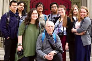 On May 18, photographer Bill Wittman led the team on a photo expedition to St. Michael's Cathedral Basilica in downtown Toronto.