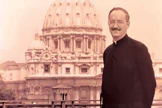 Michael Czerny in 1994 at the Vatican.