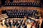 "The Toronto Mendelssohn Choir performing with the Toronto Symphony Orchestra during the choir's 125th anniversary concert in October at Koerner Hall in the city's Royal Conservatory of Music. The choir is performing ""Messiah"" at Roy Thomson Hall Dec. 17-22."