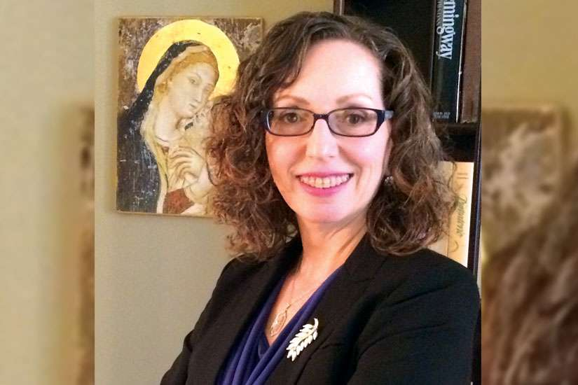 Mary DeTurris Poust, author of Cravings: A Catholic Wrestles with Food, Self- Image and God. She will be speaking in Windsor March 7 as part of Assumption University's Christian Culture Series.