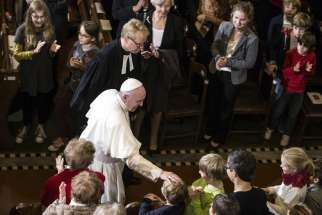 Pope Francis' visit to Sweden for the 500th anniversary of the Protestant Reformation will continue the path towards reconciliation between Catholics and Lutherans, writes editorial.
