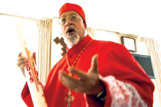 Bishop Berhaneyesus Souraphiel of Addis Ababa, Ethiopia, is one of the leading voices among Africa's Catholic bishops.