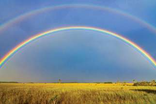 In stories that begin and end the Bible there appears a rainbow. They are powerful symbols of our Christian faith.