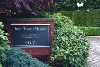 "The current board of the Irene Thomas Hospice in Delta, B.C., is fighting to stay true to its Christian roots and remain ""an authentic palliative care facility."""