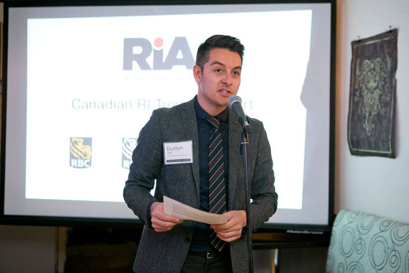 Dustyn Lanz, director of research at the Responsible Investment Association of Canada.