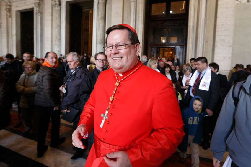 Cardinal Gerald Lacroix of Quebec, pictured at the Vatican in 2014, was named to the Congregation for Divine Worship and the Sacraments, along with a number of others, Oct. 28.