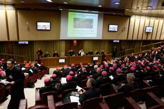 Speakers tell pope, synod that parishes should welcome same-sex couples