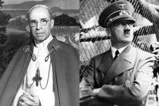 Pope Pius XII had a secret plan to overthrow Germany's Adolf Hitler during World War Two.