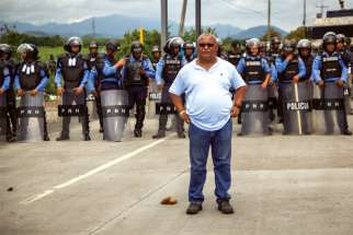 Fr. Ismael Moreno, or Padre Melo, has been the  object of  many death threats in Honduras.
