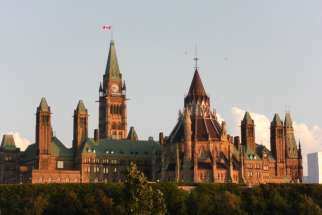 Parliament Hill in Ottawa, August 2010. The Canadian Bar Association is urging the federal government to expand the access to euthanasia.