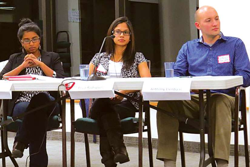 The Canadian Council of Churches hosted a panel of young ecumenists to focus on interfaith relations between different denominations of Christianity