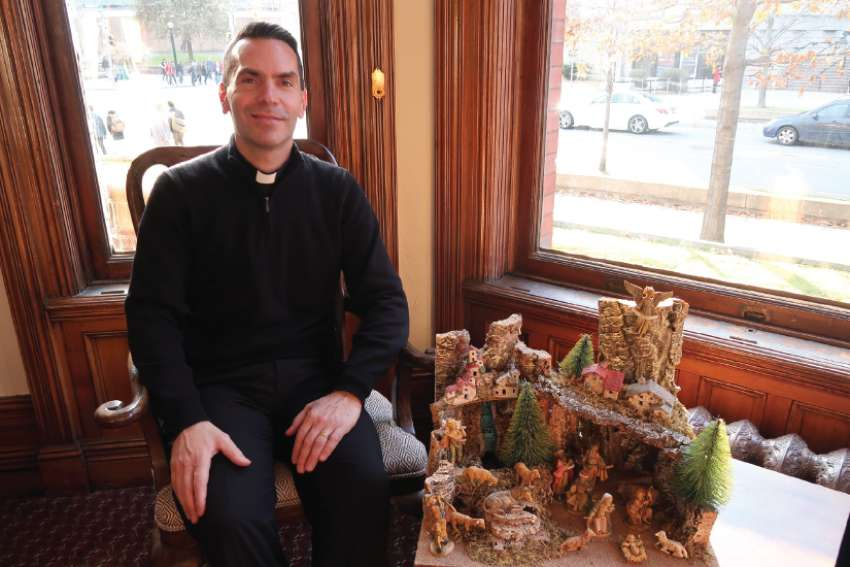Fr. Peter Turrone had an unexpected turn of good fortune when he saw a Nativity set on sale following a visit to St. Joseph's Oratory in Montreal.