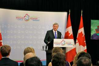 Prime Minister Stephen Harper has pledged to pump another $3.5 billion into improving maternal care.