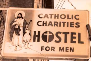 The Catholic Charities Men's Hostel has been operating in Downtown Vancouver for 60 years, first opening during a winter storm Nov. 14, 1959.
