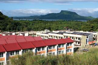 Pope Francis Village has been created for hundreds of families left homeless by Typhoon Haiyan in 2013.