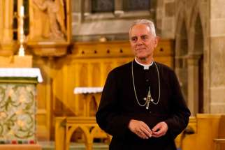 In 2009, Pope Benedict XVI lifted traditionalist Bishop Richard Williamson's 1988 excommunication from the Catholic church. On Mar. 19, 2015, Williamson was excommunicated automatically for ordaining a bishop without papal approval, Fr. Jean-Michel Faure, who was also excommunicated. In this 2008 photo, Williamson is seen in a church in Stockholm, Sweden.