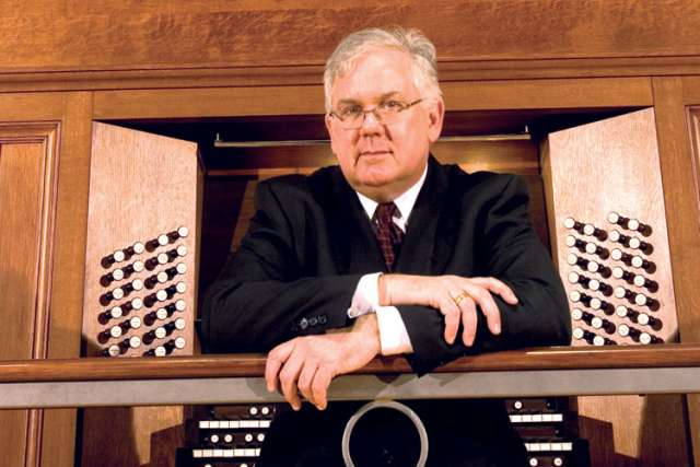 Renowned organist James David Christie will perform in Toronto at St. Basil's Church June 6.
