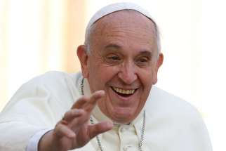 Pope Francis odds-on favourite to win Nobel Peace Prize