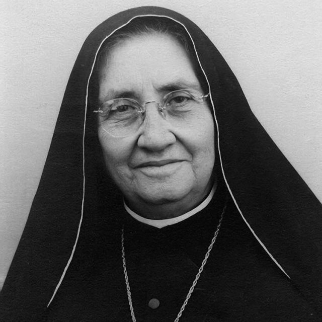 "Blessed Maria Guadalupe Garcia Zavala, also known as ""Madre Lupita,"" the Mexican co-founder of the Handmaids of St. Margaret Mary and the Poor, is pictured in an undated portrait. She will be canonized May 12."