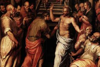 The Incredulity of St. Thomas by Giorgio Vasari, 1572