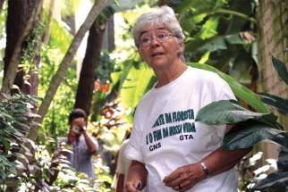 Sr. Dorothy Stang was known as a fierce defender of a sustainable development project for the Amazon forest.