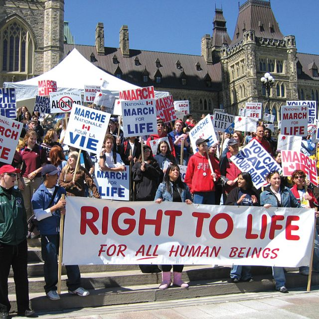 2011's March for Life attracted close to 15,000 people, the largest crowd in the event's history