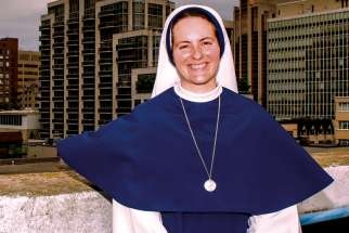 Sr. Mary Margaret Hope, born and raised in Toronto, took her final vows as a Sister of Life in August.