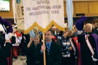 St. Maximilian Kolbe parish in Mississauga, Ont., celebrated its 30th anniversary Oct. 5, with Cardinal Thomas Collins celebrating the Mass. The parish is the largest Polish parish outside of Poland