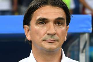 Zlatko Dalic was appointed as Croatia's head football coach Oct. 2017.