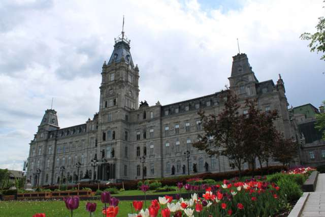 The Quebec Parliament is pictured in Quebec City in 2014.