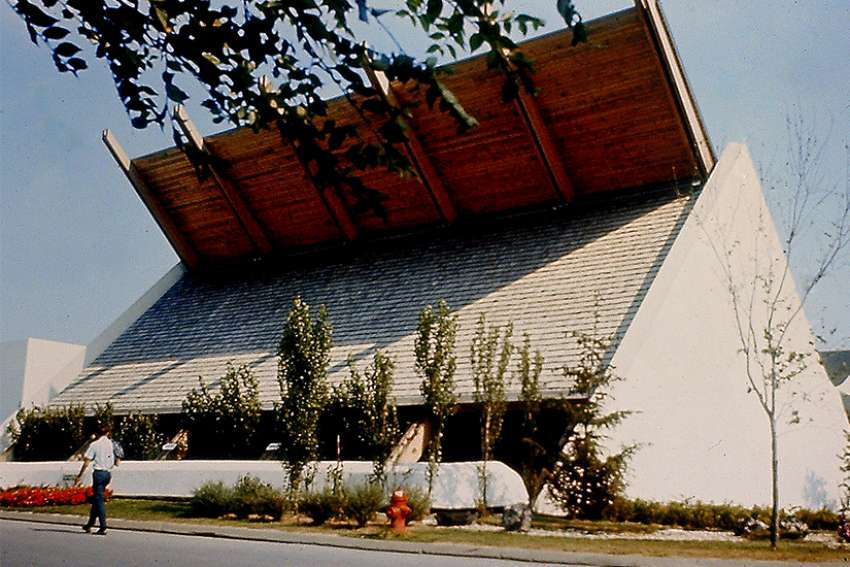 The Christian Pavilion at Expo 67 was a ground-breaking achievement for ecumenism in Canada. Eight major Christian denominations in Canada joined together to produce exhibits for the pavilion — Roman Catholic, United, Anglican, Presbyterian, Lutheran, Baptist, Greek-Orthodox and Ukrainian Greek-Orthodox.