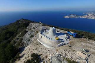 Once the 55-foot statue of Our Lady of Loreto is complete in the costal city of Primošten, Croatia, it will become one of the largest Marian sites in the world.