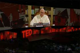 In unexpected TED Talk, Pope urges people to make real connections