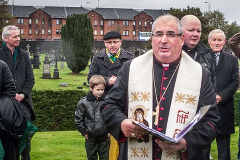 Archbishop Philip Tartaglia of Glasgow and president of the Scottish bishops' conference apologized to victims of child abuse Aug. 18. Tartaglia is pictured in this Nov. 2, 2013 photo.